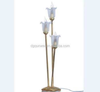 Miniature Tulips Floor Light And Lamp 12 Volt Or Led Battery