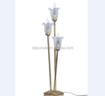 miniatuur tulpen floor licht en lamp 12 volt of led batterij aangedreven 112