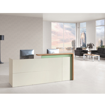 Modern Office Front Desk Counter Standing Office Reception Table