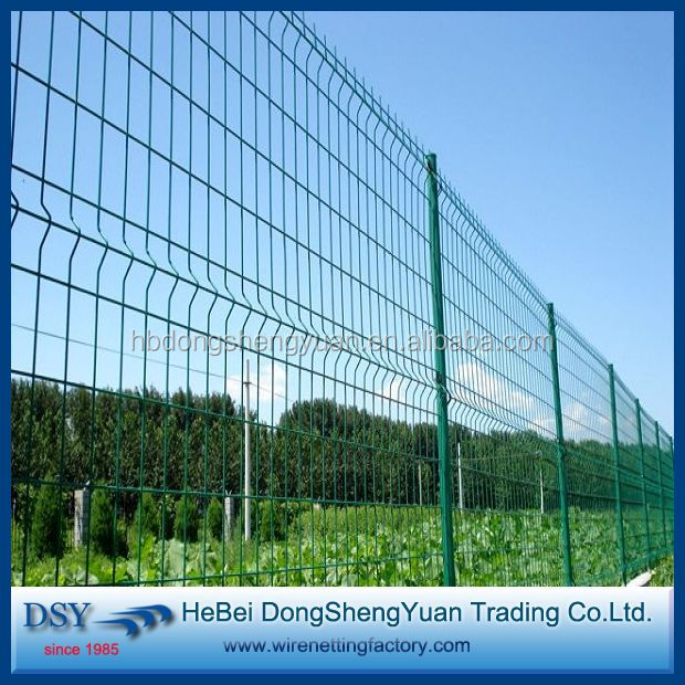 high security welded wire mesh fence for yardmesh (28 years history)