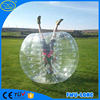 China Colorful design inflatable belly bumper ball for adults,ground knocker ball