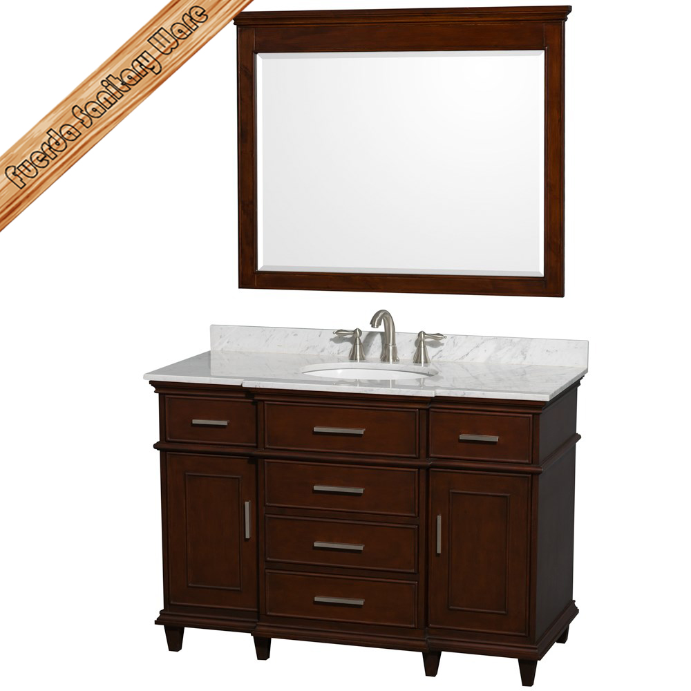 FED-1528 cheap Australian standard OEM wholesale single bathroom vanity