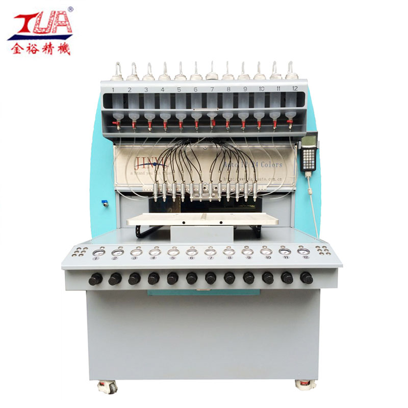 Dongguan inject silicone forming guard staple dispensing machine