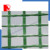small vegetable Greenhouse mobile Green White Transparent PE Film