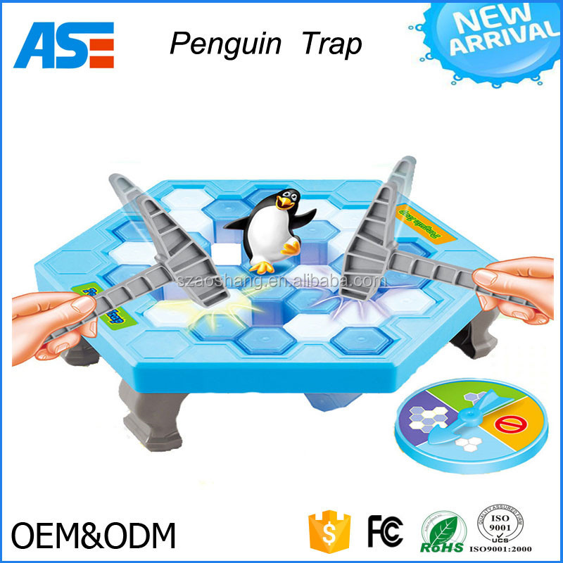 Intelligence toys Penguin Trap Game Penguin Ice Breaking Puzzle Desktop Game Parent-child Game