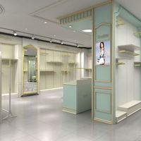 chinese wholesale Veneer retail clothes range display