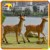KANO0294 Garden Decoration Animated Life Size Deer Statue