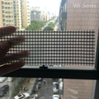 Skyflon Fireproof Architectural Decoration PTFE Membrane Once More Recoated Fiberglass Coated Thick Soft Mesh Fabric