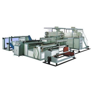 PE/PP/PC/PET single-layer cast embossed film production machine