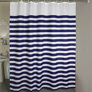 Stall Shower Curtain Welwo Fabric CurtainsLiners Set With HooksRings For