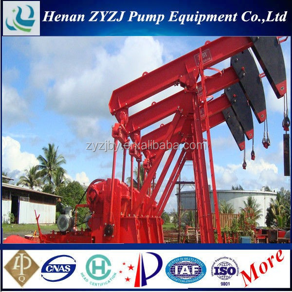High quality API 11E B C F R CYJ Series oil well pumping unit with best price