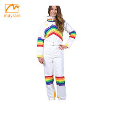 2019 High Quality Custom Waterproof Ski Suit One Piece Ski Suit for women