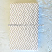 Grey chevron gift wrapping paper printable paper