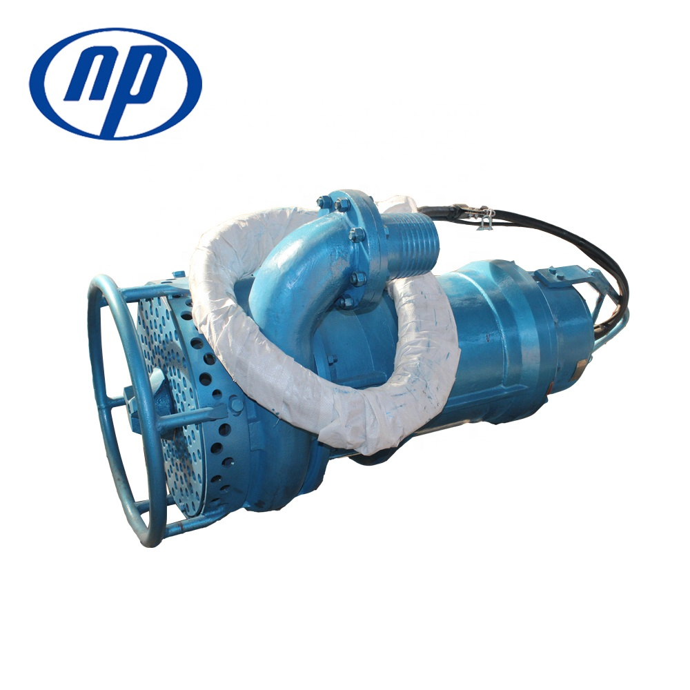 Long Lifespan Well Resistant Submersible Mud Dredge Pump with Agitator