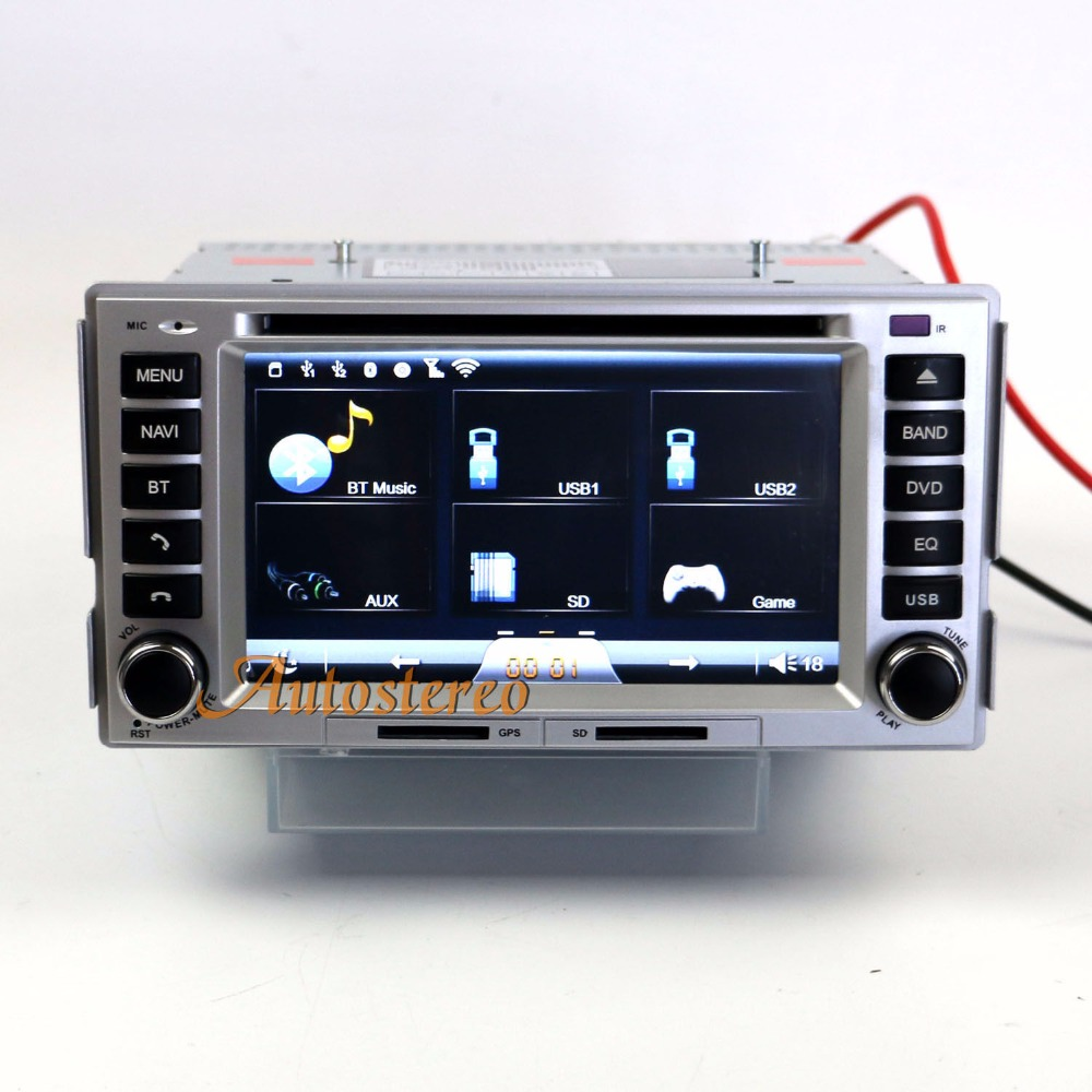 Car Auto Stereo GPS Navigation System For Hyundai Santa Fe 2006-2012 WIFI 3G Car dvd player