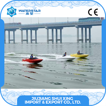 Top Chinese Supplier 2 Person Speed Boat, Fiberglass Jet Boat Sale