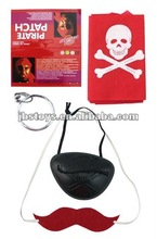 2012 hallween hot toys Pirates 4 pieces / halloween toys / halloween promotional gift