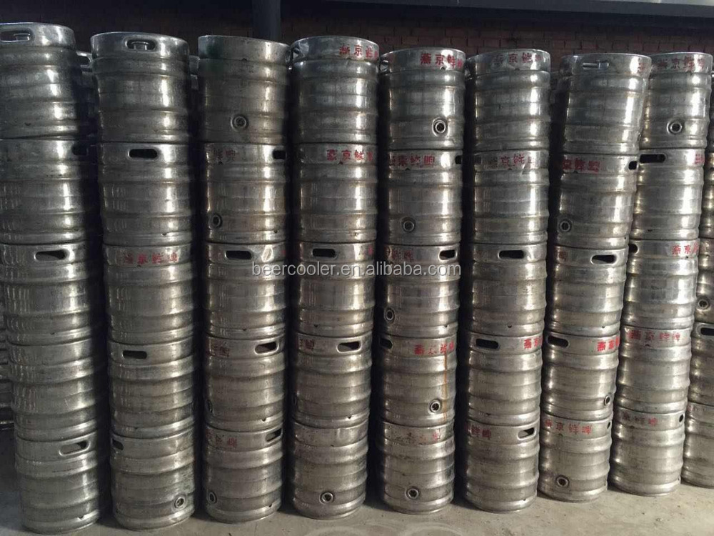 used 15L and 20L stainless steel insulation beer barrels for sale