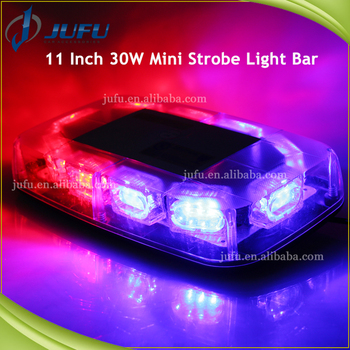 Police car roof mounted magnetic led flash light bar red blue police car roof mounted magnetic led flash light bar red blue amber emergency strobe light bar aloadofball Image collections