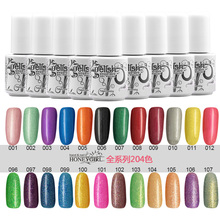 1pcs poplar UV gel nail polish soak off uv color gel 5ml free shipping