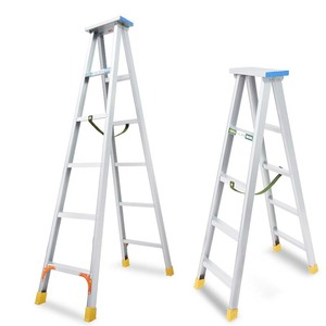 High quality aluminum alloy A ladder 2.5 m double-sided household engineering ladder