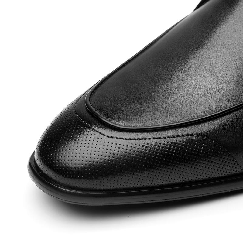 Casual Sole Customized Rubber Handmade Leather Shoes Dress Mens Stylish wtqXxUWa