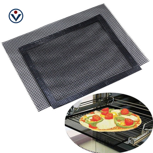 Heat resistant teflon material 0.85mm thickness amazon baking grill wire mesh mat
