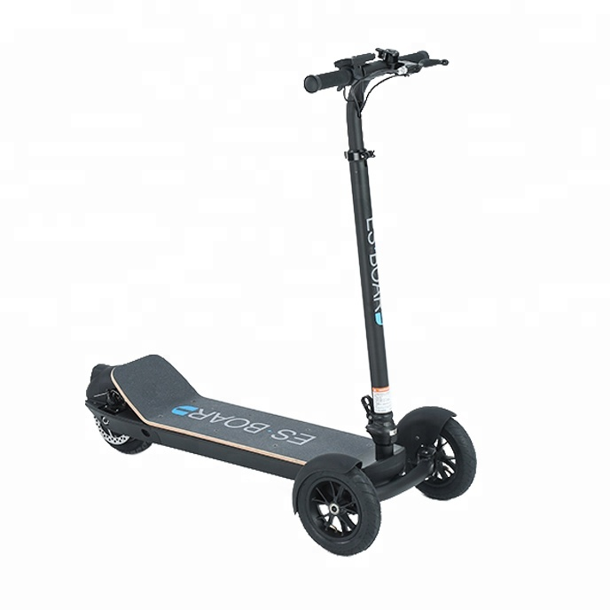 the best high quality cheap fat tire city coco 3 wheel adult electric scooter, 5 optional grips or pure black