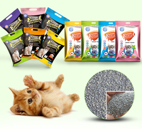 100% natural activated carbon bentonite cat litter