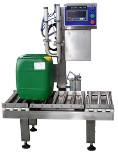 Manual Corn oil weighing and filling machine