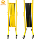 3.5M Black Yellow Steel Expandable Barrier Crowd Control Fence