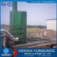 Wet flue gas desulfurization scrubber/gas absorber for sulphuric acid plant