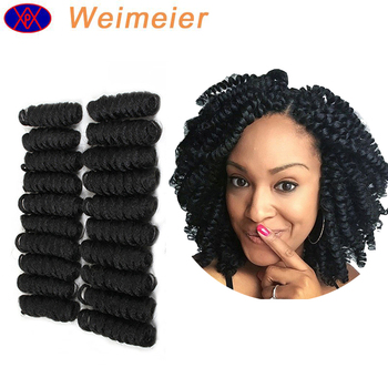 Wholesale New Style Synthetic Braiding Hair Easy Crochet Braids Curl