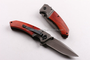 OEM folding knife type hunting knife blade blanks with liner lock