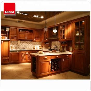 Rustic Kitchen Decoration Using Medium Brown Rustic Cherry Kitchen Cabinets Buy Cherry Kitchen Cabinets Cherry Kitchen Cabinets Kitchen Cabinets