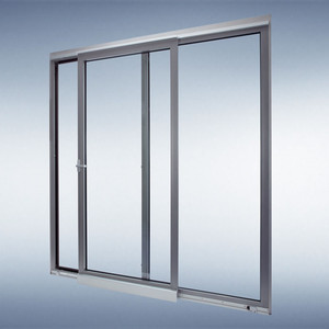 New Design Wide Aluminium Door Unbreakable Sliding Glass Interior Frosted