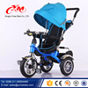 Low price Children Tricycle Pedal Rubber Wheels ,360degree rotated seat Children Baby trikes/Luxury Kids Trike In Three Wheels