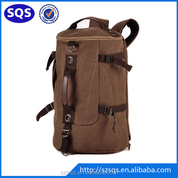 Military Men s Travel Cotton Canvas Duffle Bag cbada514643cd