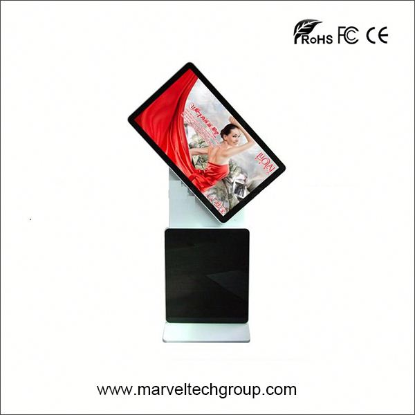 55 inch floor stand digital signage rss feeds