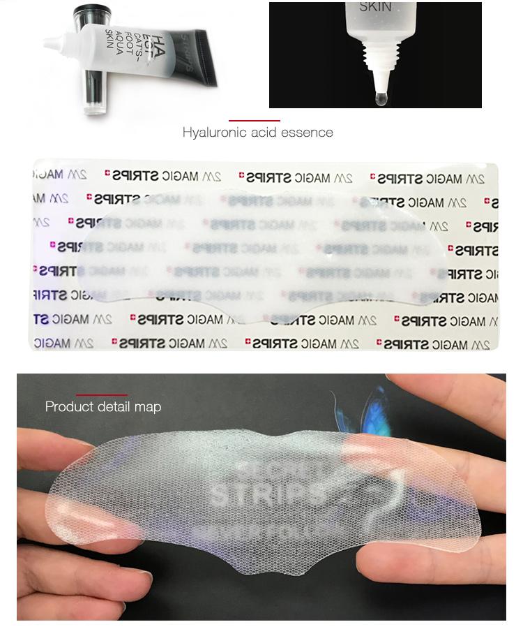 Trattamento Rughe Sulla Fronte acido ialuronico viso maschera foglio naturale del viso maschera viso sottile