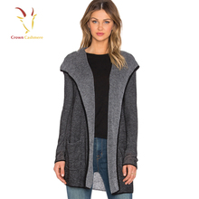 73500fda9d28b Knitted Hooded Cardigan