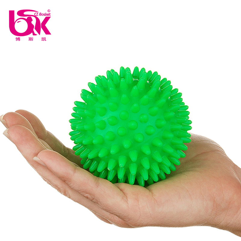 Eco-friendly PVC Small Hard Hand Massage Ball