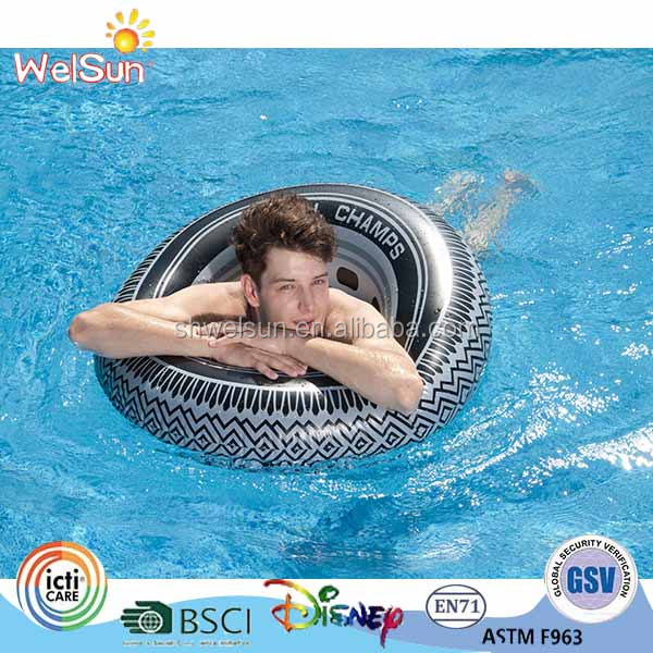Adult 91cm wholesale Tire inflation ring pool swimming ring