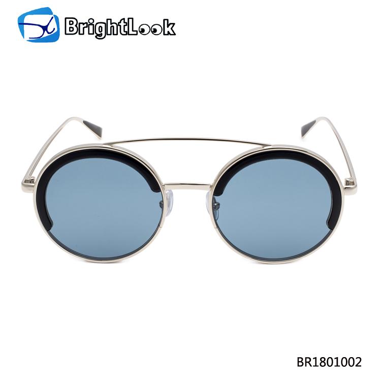 runde brillenfassung retro ohne nasensteg