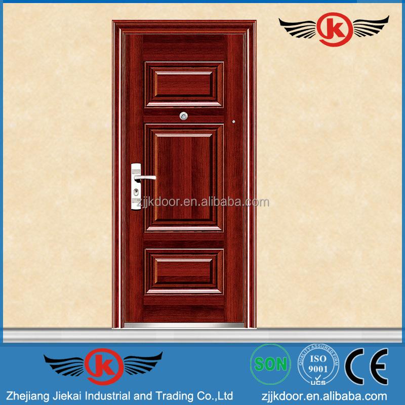 Jk s9026 lowes puertas de seguridad de hierro forjado - Puertas de hierro forjado para exteriores ...