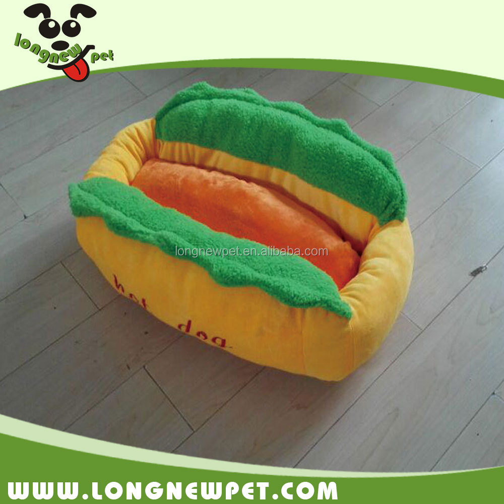 Best Selling Hot Dog Pet Bed Burger Couch Mat for Small Dog