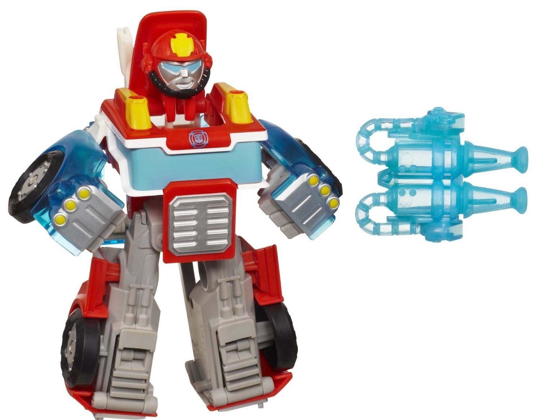 Transformers Playskool Heroes Rescue Bots Robot Beam Bots Heatwave /& Bumblebee Gift Set Bundle 2 Pack Hasbro