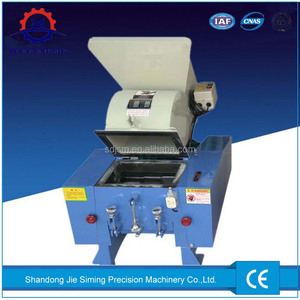 Plastic bottle crushing / cutting / grinding / shredding / pelletizing machine