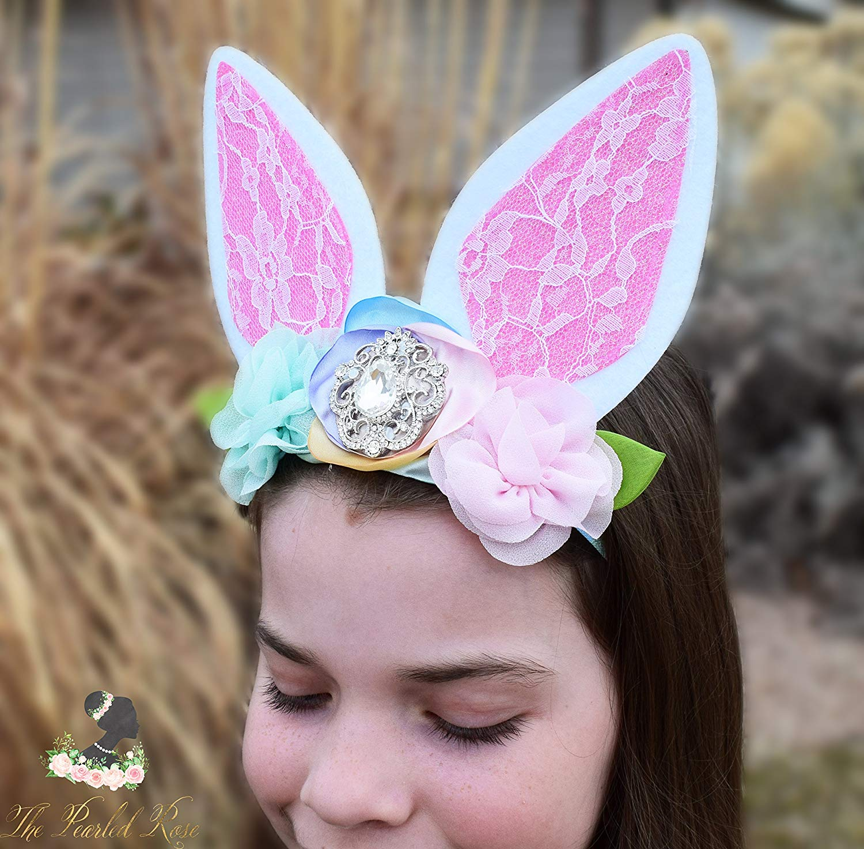 Fashion Rabbit Bunny Ears Women Bow Headband Smiley Face Hairband Headdress Hair Head Band Hoop Accessories For Women Girls Great Varieties Apparel Accessories
