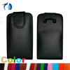 New Black Shine flip Leather Case for BlackBerry Bold 9790